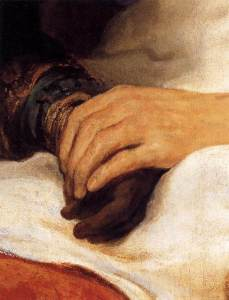Isaac Blessing Jacob (detail) 1639 Oil on canvas Rijksmuseum, Amsterdam