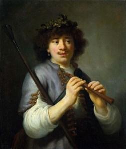 Retrato de Rembrandt por Govert Flinck