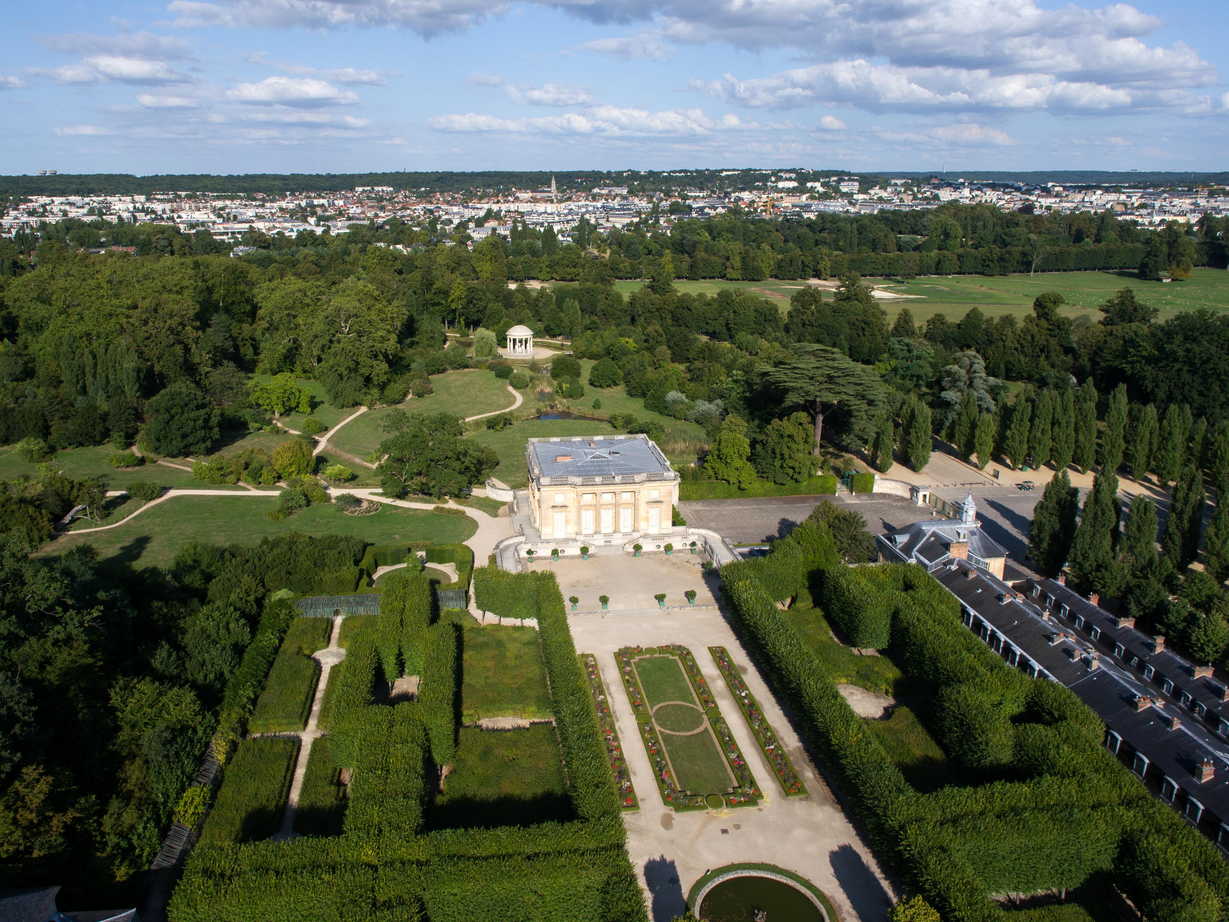 D coration jardin petit trianon 21 creteil jardin du for Mobilier japonais lausanne