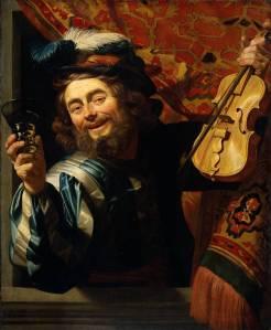 Gerrit van Honthorst De vrolijke speelman