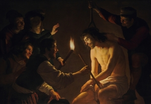 Mocking of Christ Gerard van Honthorst