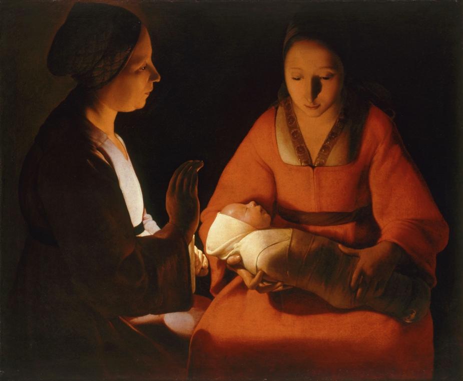 The New-born, by Georges de La Tour