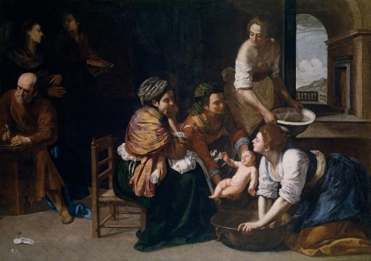 Nacimiento_de_San_Juan_Bautista_(Artemisia_Gentileschi)