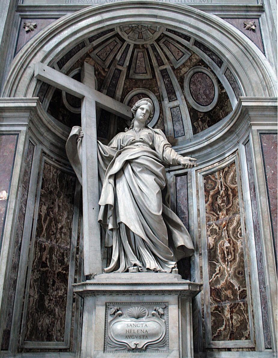 0_Statue_de_Sainte_Hélène_par_Andrea_Bolgi_-_Basilique_St-Pierre_-_Vatican